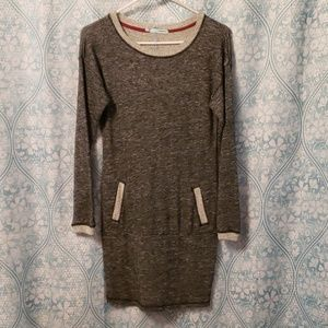 Sweatshirt dress! So cute with pockets!